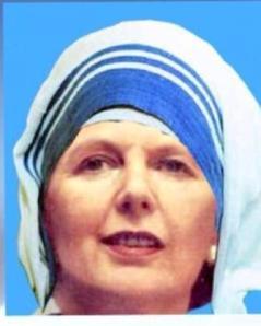 Saint Margaret Thatcher